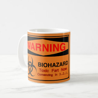 Warning Biohazard Coffee Mug