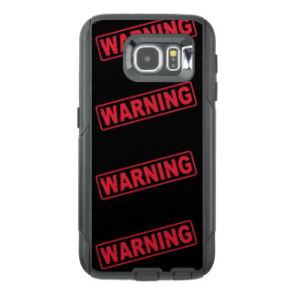 Warning Cell Phone Case