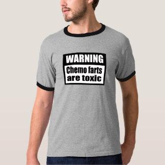 WARNING Chemo farts are toxic Ringer T-Shirt