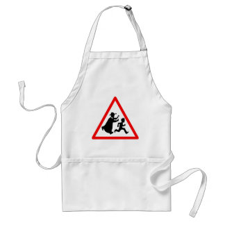 Warning: Child Abuse Aprons