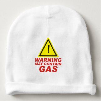 WARNING GAS BABY BEANIE