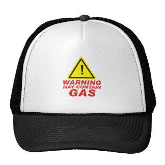 WARNING GAS TRUCKER HAT