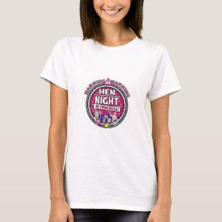 Warning Hen Night In Progress T-Shirt