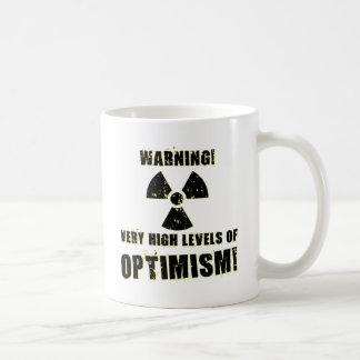 Warning! High Levels of Optimism! Coffee Mug