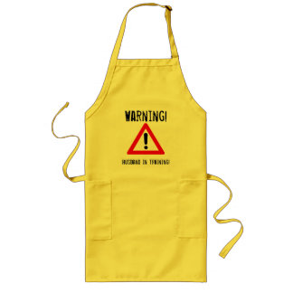 Warning: Husband In Training! Apron