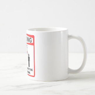 Warning: I am silently correcting your grammar. Coffee Mug