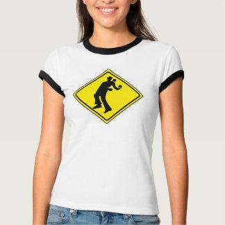 WARNING JUGGLER ROAD SIGN T-Shirt