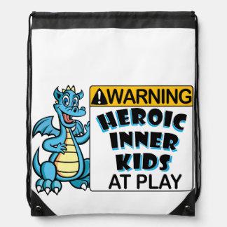 Warning! Kids at Play Backpacks