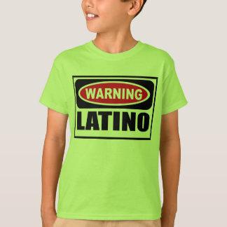 Warning LATINO Kid's T-Shirt