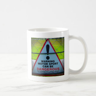 Warning - Motorsports Coffee Mug