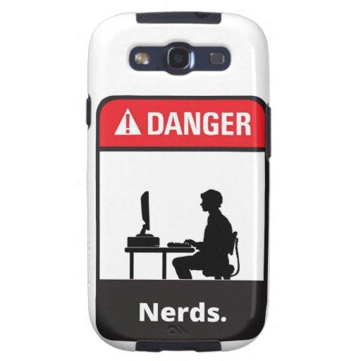 Warning: Nerd Crossing Samsung Galaxy SIII Cases