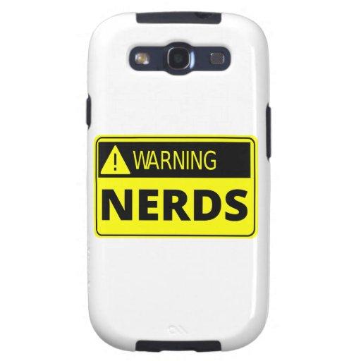 Warning: Nerd Crossing Galaxy S3 Case