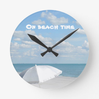 Warning: on beach time round clock