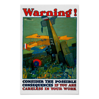 Warning! Poster