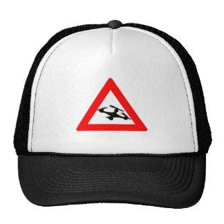Warning Quadcopter Zone Trucker Hat