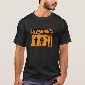 Warning! Science in Progress©: Frankenstein T-Shirt