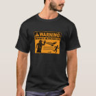 Warning! Science in Progress© - Robot T-Shirt