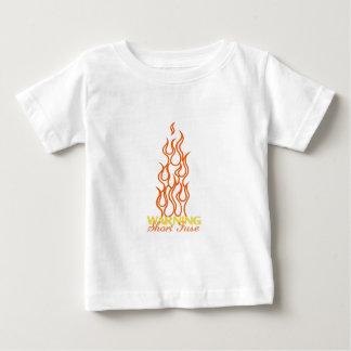 Warning Short Fuse Baby T-Shirt
