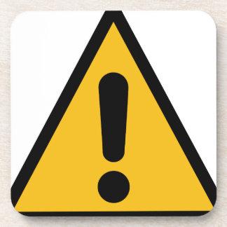 Warning Sign Coaster