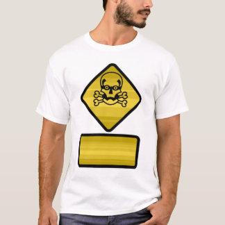 Warning Sign - Customize T-Shirt