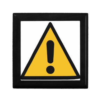 Warning Sign Gift Box
