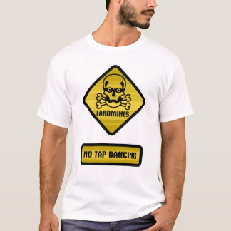 Warning Sign - Landmines T-Shirt