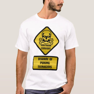 Warning Sign - Southern Comfort T-Shirt