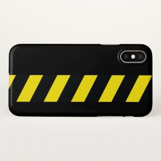 Warning strip iPhone x case