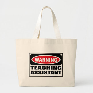 Warning TEACHING ASSISTANT Bag