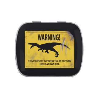 Warning! This Property is Protected by Raptors