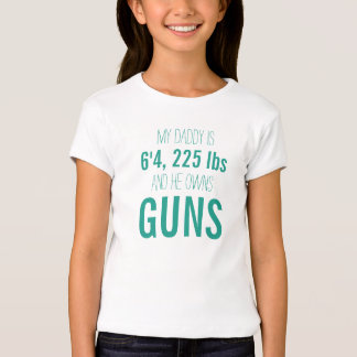 Warning to Boys for Daddy's Girl T-Shirt