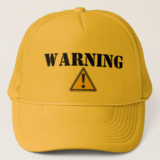 WARNING - Trucker Hat