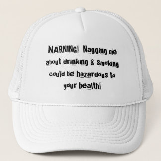 WARNING! TRUCKER HAT