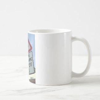 'Warning: Turkey drivers ahead' Coffee Mug