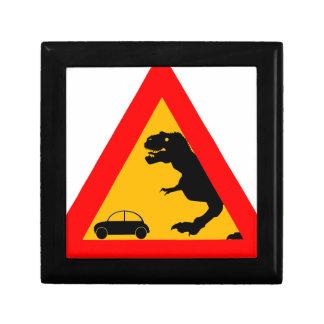 Warning Tyrannosaurus Rex Gift Box