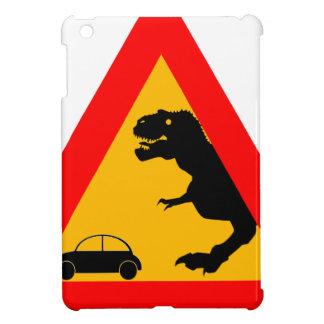 Warning Tyrannosaurus Rex iPad Mini Case