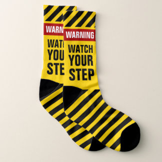 Warning Watch Your Step 1