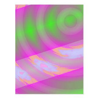 Warp Drive - Digital Space Art Postcard