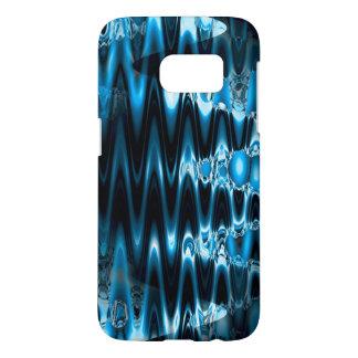 Warped glasses (blue) samsung galaxy s7 case
