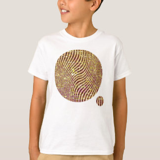 Warped glitter T-Shirt