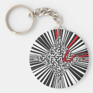 Warped Maze Explosion Keychain