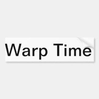 WarpTime2 Autocollant De Voiture