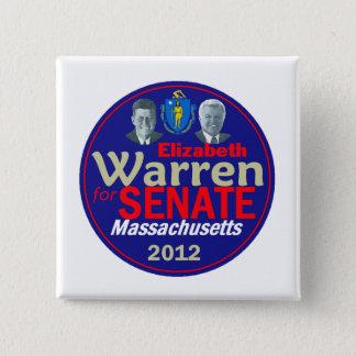 WARREN 2012 2 INCH SQUARE BUTTON