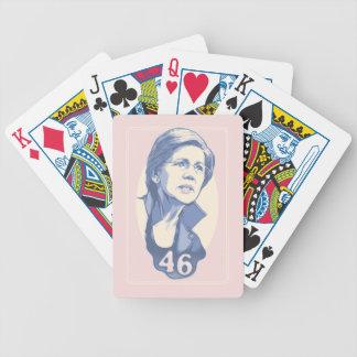 Warren 46 bicycle playing cards