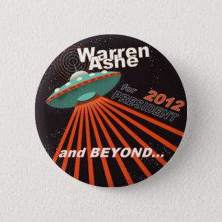 Warren Ashe 2012 2 Inch Round Button