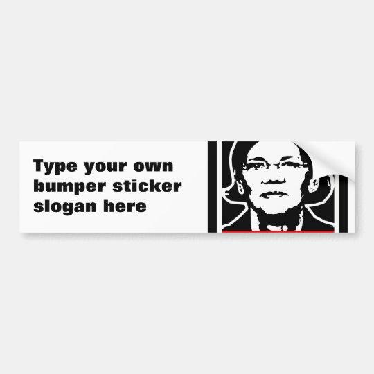 WARREN BUMPER STICKER