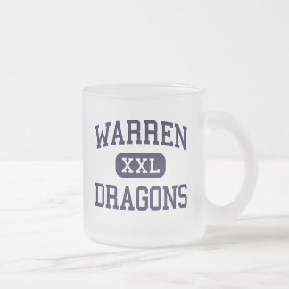 Warren - Dragons - Area - Warren Pennsylvania Frosted Glass Mug