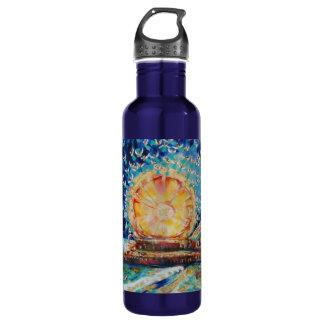 """Warren Long's """"Angels A-Pier"""" 710 Ml Water Bottle"""