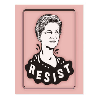 Warren -Resist -517 Postcard