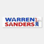 Warren Sanders 2016 Car Bumper Sticker